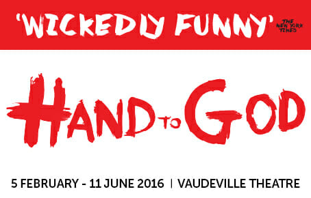 hand to god review from theatre weekly