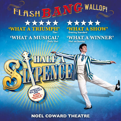 Half a Sixpence Transfers to West End Theatre Weekly