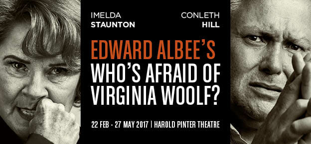 Who's Afraid of Virginia Woolf Harold Pinter Theatre