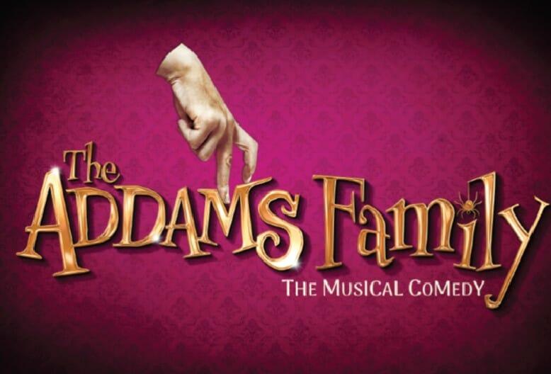 Carries Hope Fletcher, Samantha Womack Les Dennis Addams Family