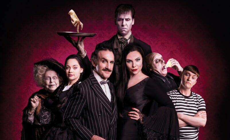 Addams Family Musical Cast