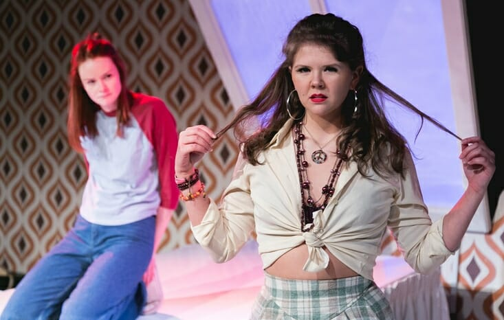 The Diary of a Teenage Girl at The Southwark Playhouse