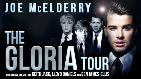 Joe Mcelderry The Gloria Tour