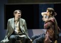 James McArdle (Louis) and Andrew Garfield (Prior) in Angels in America