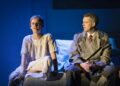 Denise Gough (Harper) and Russell Tovey (Joseph) in Angels in America