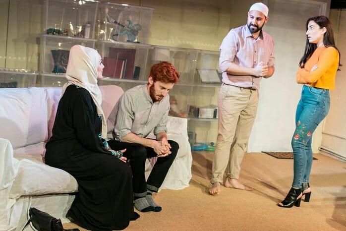 Becoming Mohammed (Nadia Lamin, Jack Hammett, Jonah Fazel and Philippa Carson) - courtesy of And Many Others