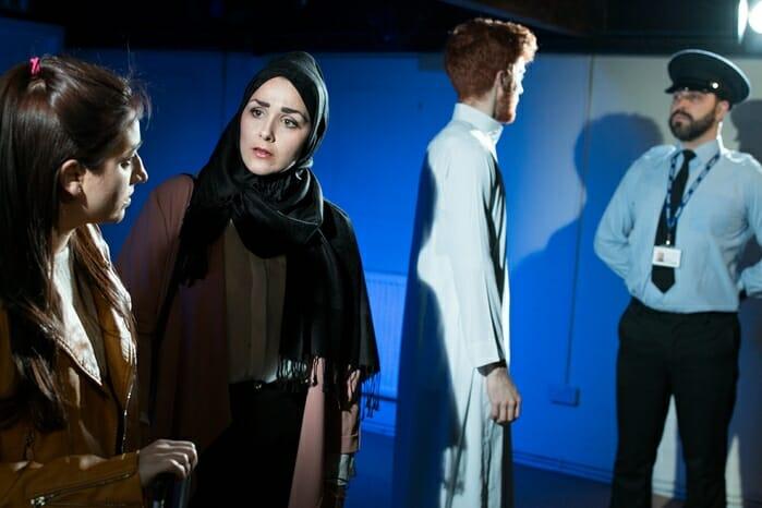 Becoming Mohammed (Philippa Carson, Nadia Lamin, Jack Hammett and Jonah Fazel) - courtesy of And Many Others