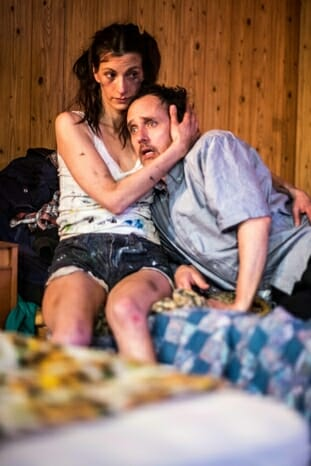 Out Theatre On Fried Meat Ridge Rd. - Melanie Gray and Robert Moloney, Trafalgar Studios