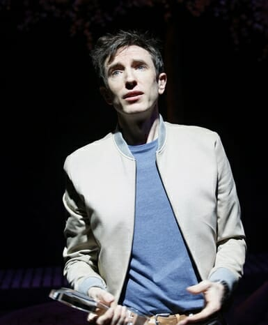 Daniel Weyman in The Mentor at the Vaudeville Theatre, 24 June to 2 September. CREDIT Simon Annand