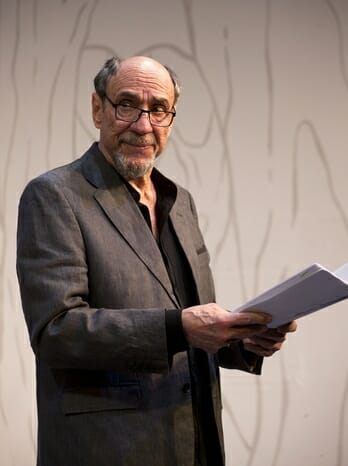 F. Murray Abraham in The Mentor at the Vaudeville Theatre, 24 June to 2 September. CREDIT Simon Annand (2)