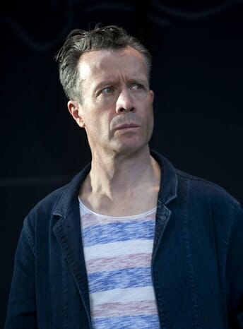 Jonathan Cullen in The Mentor at the Vaudeville Theatre, 24 June to 2 September. CREDIT Simon Annand