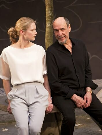 Naomi Frederick and F. Murray Abraham in The Mentor at Ustinov Studio CREDIT Simon Annand.jpgat the Vaudeville Theatre, 24 June to 2 September. Credit Simon Annand