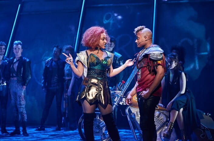 Danielle Steers as Zahara & Dom Hartley-Harris as Jagwire in BAT OUT OF HELL credit Specular (2)