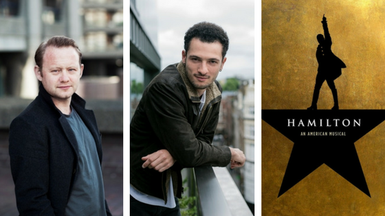 Jamael Westman and Michael Jibson Cast in Hamilton
