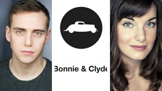 Jamie Muscato and Rebecca Trehearn in Bonnie and Clyde