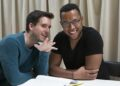 Michael Longhurst (Director) and Branden Jacobs Jenkins (Playwright). Gloria at Hampstead Theatre, photo by Ellie Kurttz.