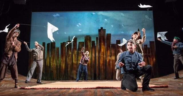The Kite Runner David Ahmed and Cast Photo by Irina Chira