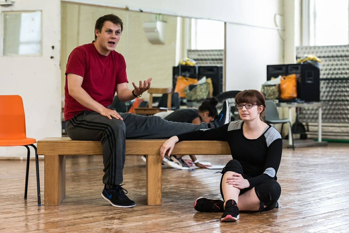 The Quentin Dentin Show - Max Panks and Shauna Riley (courtesy of Lidia Crisafulli)
