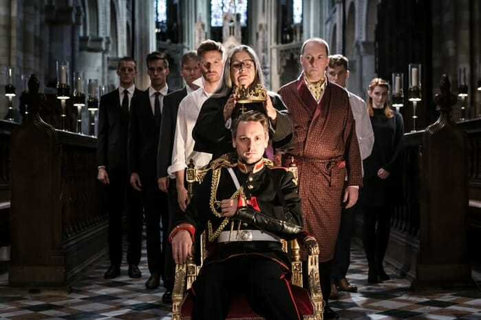 First Look: Antic Disposition's Richard III - Theatre Weekly