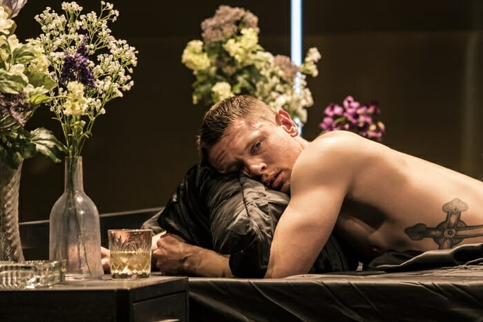 CAT ON A HOT TIN ROOF by Williams ; Directed by Benedict Andrews ; Designed by Magda Willi ; at The Apollo Theatre, London, UK ; 12 July 2017 ; Credit : Johan Persson