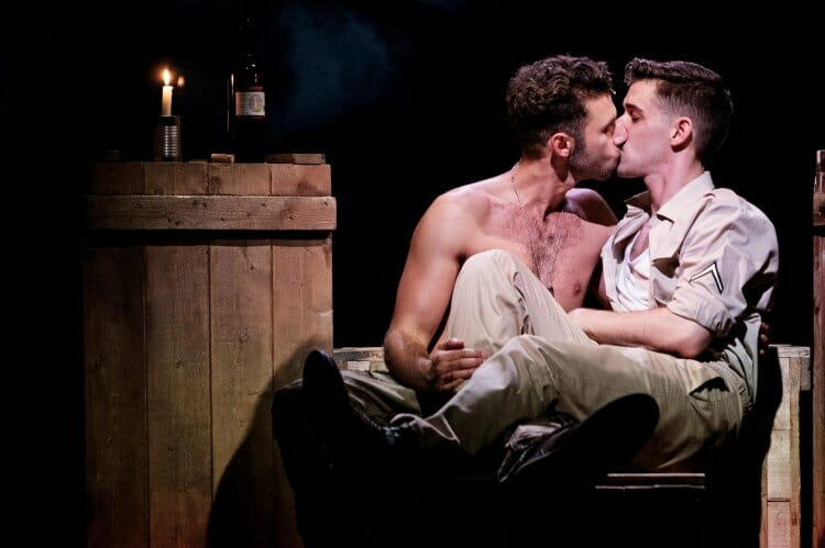 Scott Hunter and Andy Coxon Yank Charing Cross Theatre