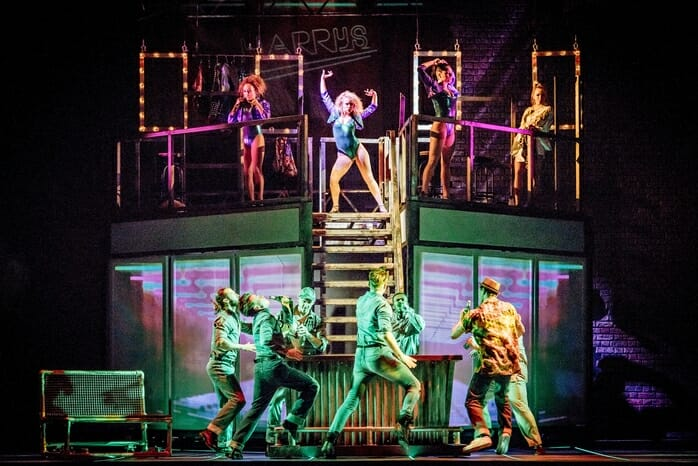 Flashdance, the musical. Kings Theatre, Glasgow. 5th August 2017