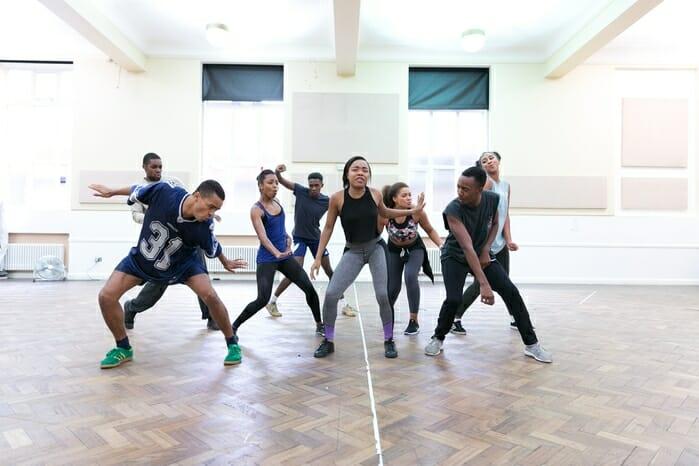 Hairspray UK Tour in Rehearsal