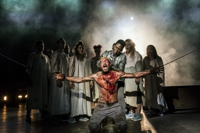 JESUS CHRIST SUPERSTAR, , Director – Timothy Sheader, Designer – Tom Scutt, Choreographer – Drew McOnie, Musical Director – Tom Deering, Regent Park Open Air Theatre, 2017, Credit: Johan Persson/, Credit: Johan Persson/