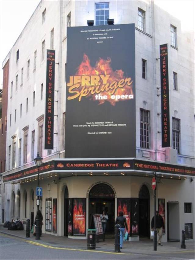 Cambridge Theatre Theatre Weekly