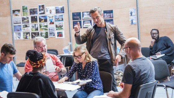 First Look The Seagull in Rehearsal