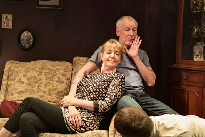 HYEM, Charlie Hardwick and Patrick Driver, Theatre503, photos by Nick Rutter
