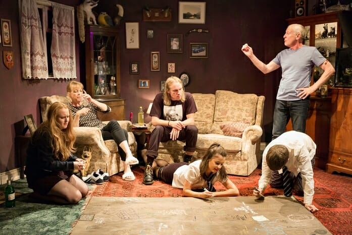 HYEM, full company, Theatre503, photos by Nick Rutter