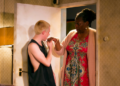 Michael Hanratty and Susan Aderin as Blaize and Mrs Joseph