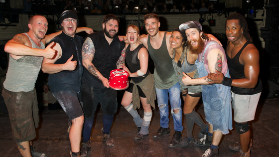 Stomp Celebrates 15 Years in West End