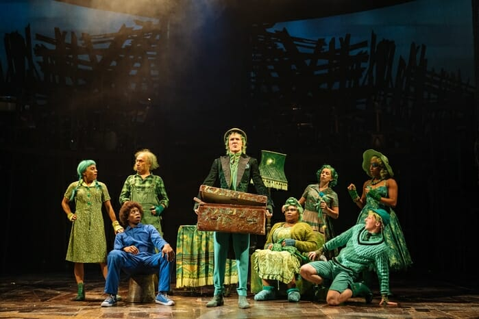 Cast of Dr. Seuss's The Lorax at The Old Vic. Photos by Manuel Harlan (1)