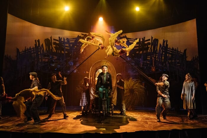 Cast of Dr. Seuss's The Lorax at The Old Vic. Photos by Manuel Harlan (2)