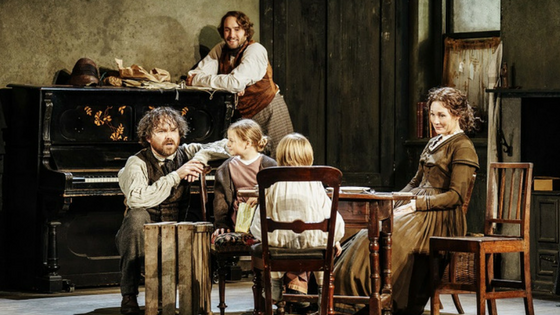 First Look Young Marx Bridge Theatre