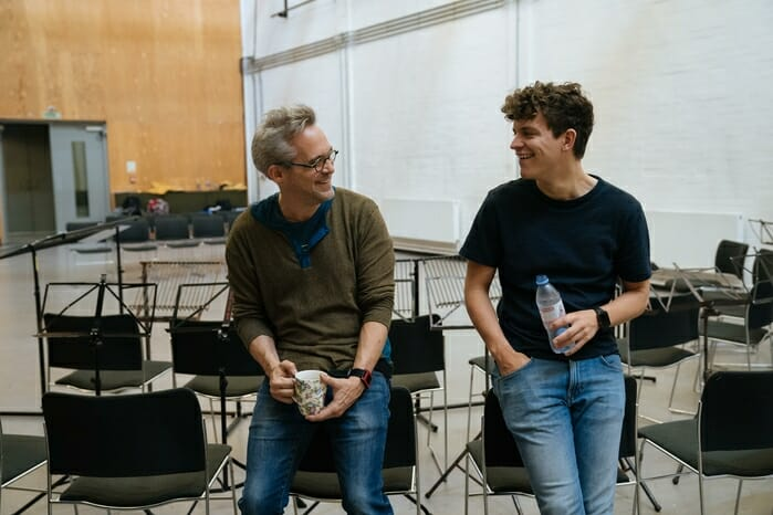 Martin Lowe - Music Supervision and Orchestrations, Tom Brady - Music Director. Photo Manuel Harlan