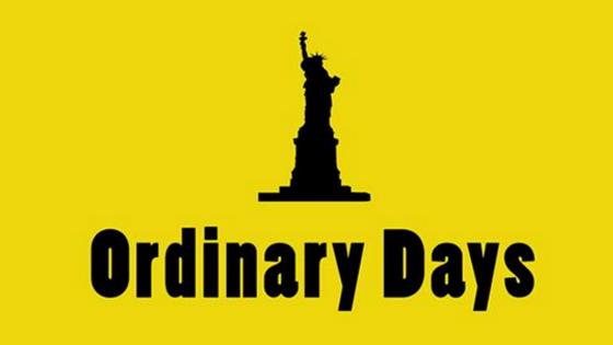 Ordinary Days at The Drayton Arms