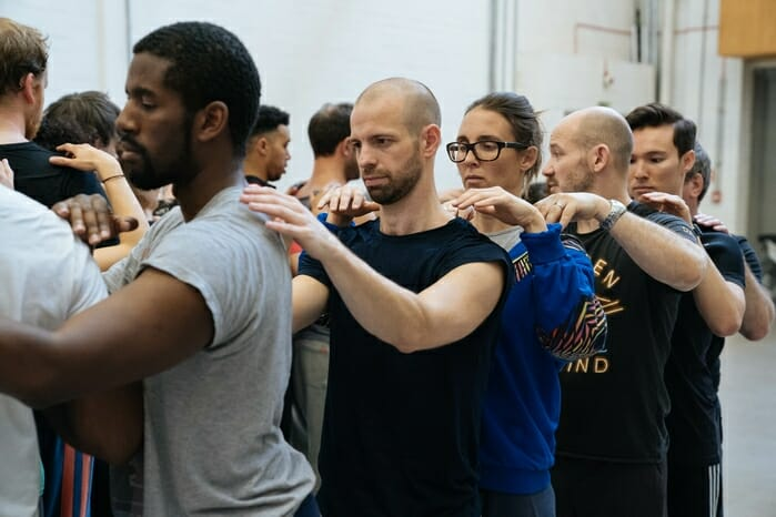Pinocchio rehearsals. Image by Manuel Harlan