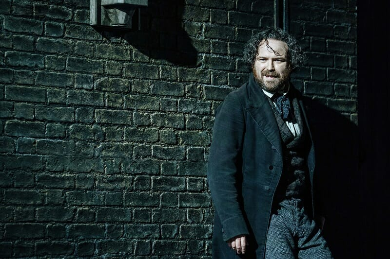 Rory Kinnear (Karl Marx), photo by Manuel Harlan