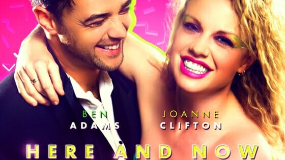 Ben Adams and Joanne Clifton Reach The Top Spot With Here and Now
