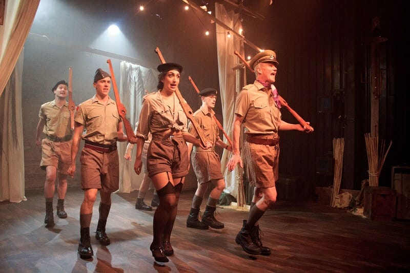 Privates on Parade The Cast c. Toby Lee