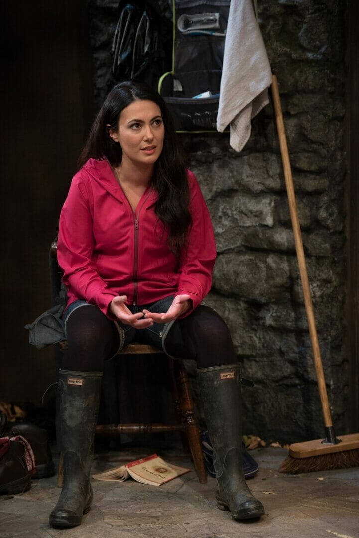 Yasmine Akram (Tara) in THE RETREAT. Photo Credit Craig Sugden