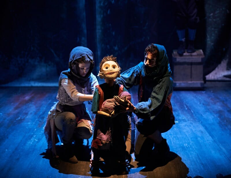 24. The Grinning Man_Puppetry design and direction by Finn Caldwell & Toby Oli+® of Gyre & Gimble_Photography Helen Maybanks