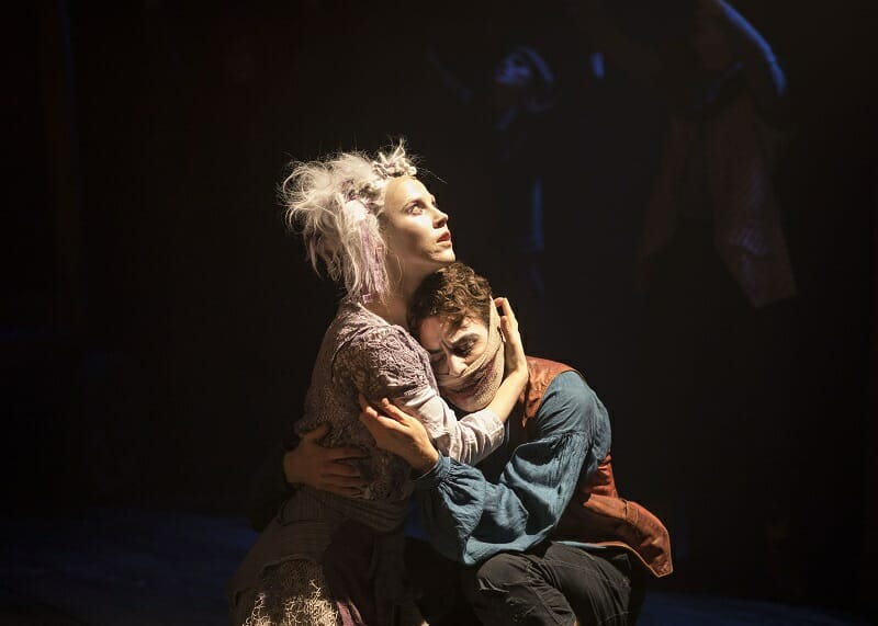 82. The Grinning Man_ Sanne den Besten as Dea, Louis Maskell as Grinpayne_Photography Helen Maybanks