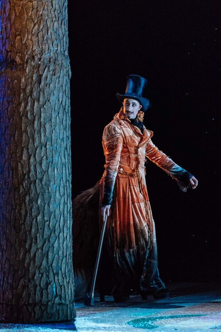 David Langham as The Fox in Pinocchio. Image Manuel Harlan