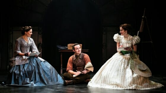 First Look The Woman in White Production
