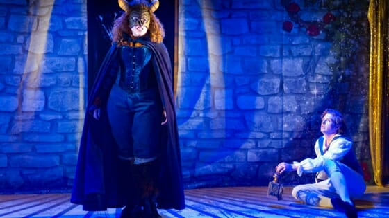 Review Beauty and The Beast a Musical Parody at The King's Head Theatre