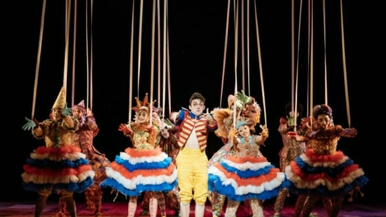 Review Pinocchio at The National Theatre